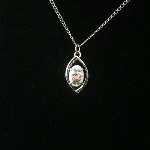 Vintage Cloisonné Enamel Necklace